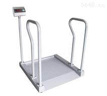 上海300kg医用透析地磅秤可上病人推车体重秤