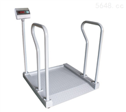 300kg超低斜坡帶扶手輪椅秤醫院用電子輪椅地磅秤