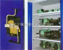 工业重型置物柜-壁挂板置物柜-武汉宁德置物柜图片