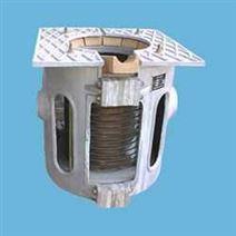 中频电源铝合金熔炼炉