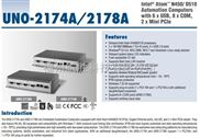UNO-2174a-研华机箱嵌入式工控机UNO-2174A-A33E