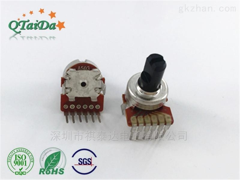 深圳厂家R1216G双联电位器