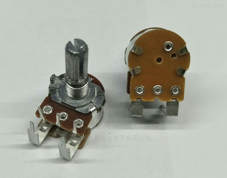 深圳厂家R1610NS弯脚开关电位器调速器