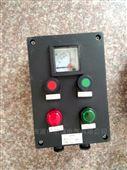 工程塑料两灯两钮一表立式防爆操作柱