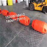 齐全福州生产挡油塑料浮漂 水上浮筒来图订做