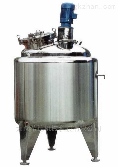 麦乳精预混搅拌罐高剪切乳化机