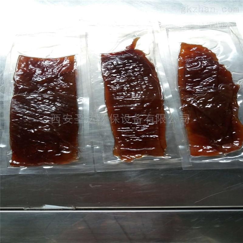 小型猪肉脯杀菌设备价格范围圣达微波来解决