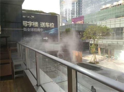 商业中心降温