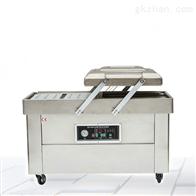 平板型全自动双室烤鸭真空包装机