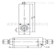 热式质量流量計/流量控制器