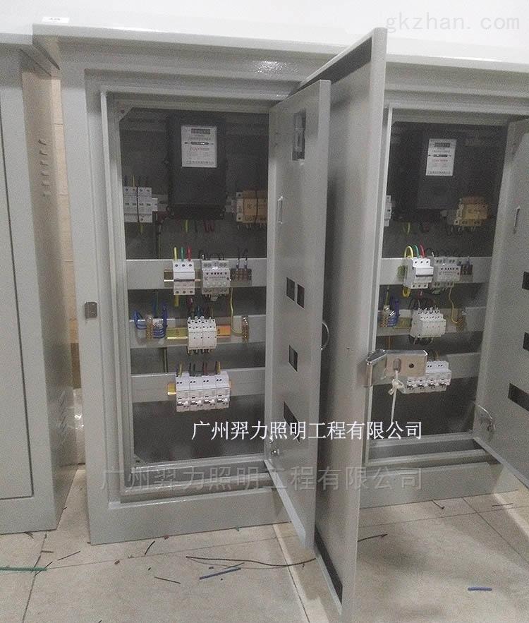 4路6路模块控制箱成套模块配电箱柜双层门