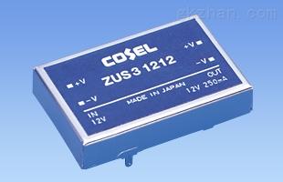 3W科索隔离电源ZUS30512 ZUS31205 ZUS32405