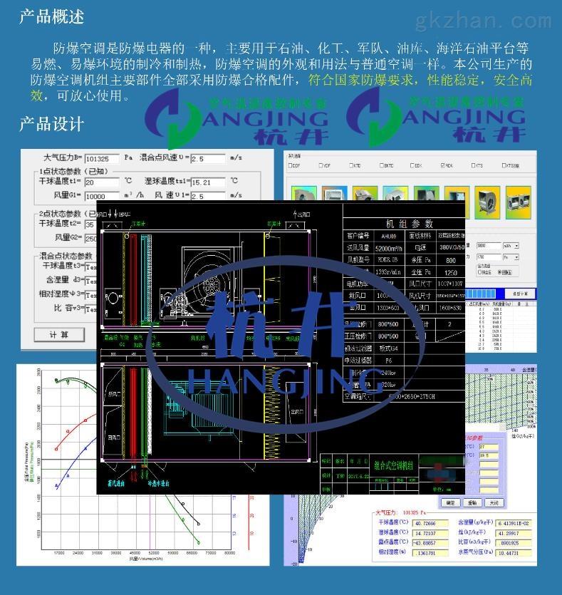 吊顶式空调机组、新风换气机有防爆合格证书