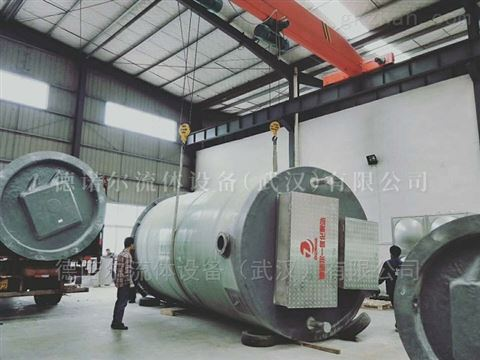 一体化建筑给排水泵站 安装