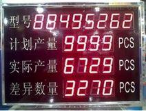 浙江工業電子看板系統