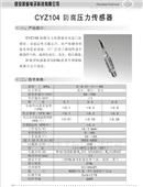 防腐压力传感器
