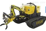 双五轴液压机械臂挖掘机器人