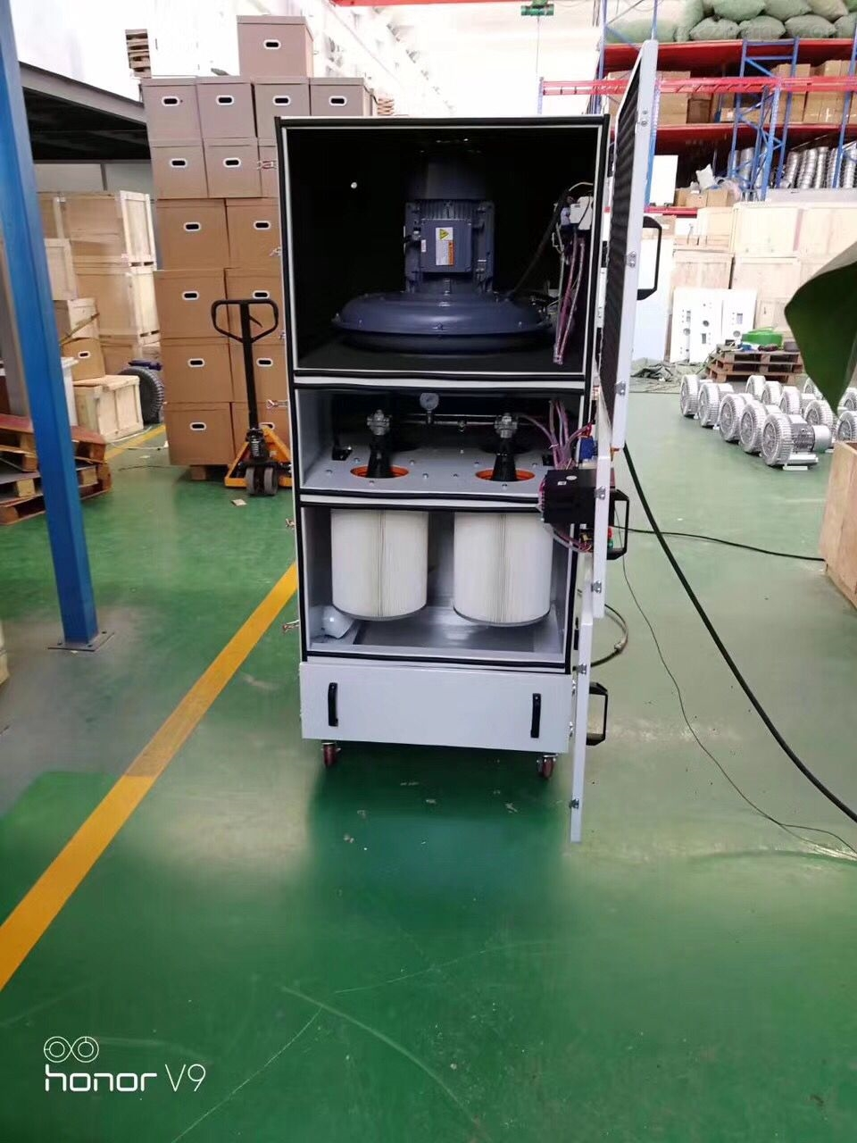 塑胶粉尘集尘器 塑料抛光集尘机 粉尘除尘器