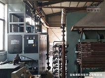 琅特燃气模温机在厦门板材热压机上的应用