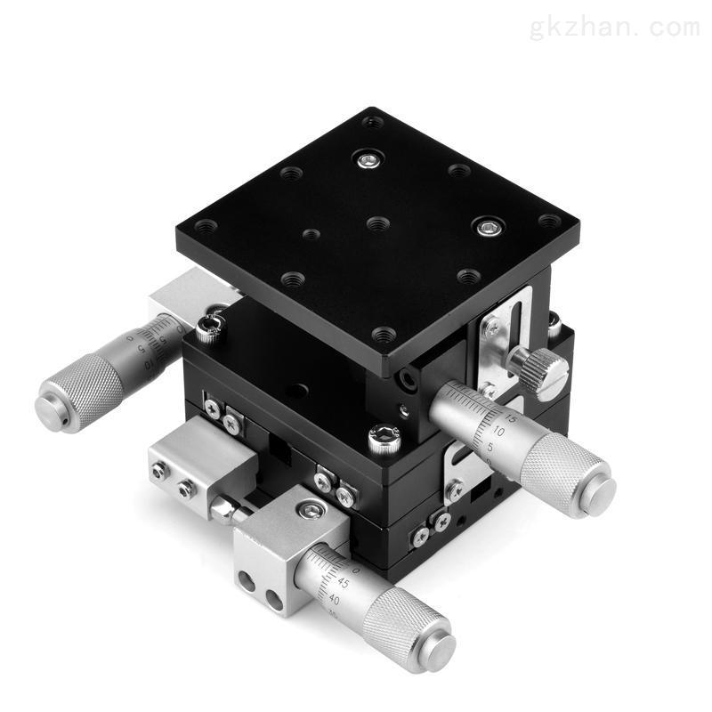 xyz三轴手动位移平台_超高精密位移台