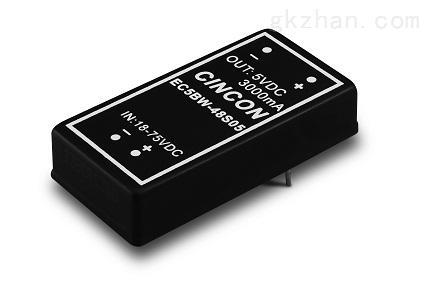 CINCON电源代理商西安浩南电子EC5BW-48S05N