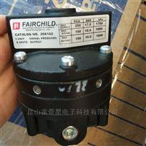美国FAIRCHILD仙童208102气动增压器