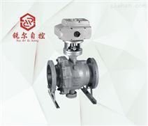 防爆电动固定式球阀,上海锐尔阀门厂