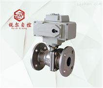 Q941F 电动调节阀球阀,上海锐尔阀门厂