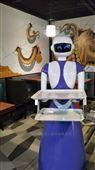 餐厅餐饮送餐机器人入职龙虾店