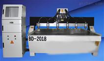 BD-2018智能一拖六雕刻机