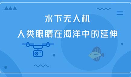 水下无人机——人类眼睛在海洋中的延伸