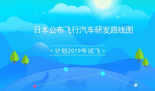 日本公布飞行汽车研发路线图 计划2019年试飞