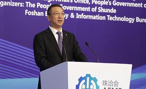 """王新哲:推動""""五個發展"""",促進我國裝備制造業邁向全球產業鏈中"""
