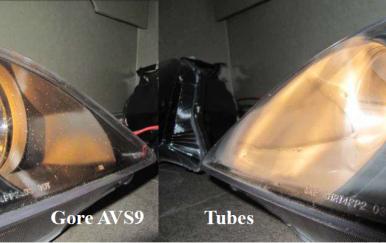 车灯凝露风险如何避免?GORE两大标准为你甄别防水透气产品