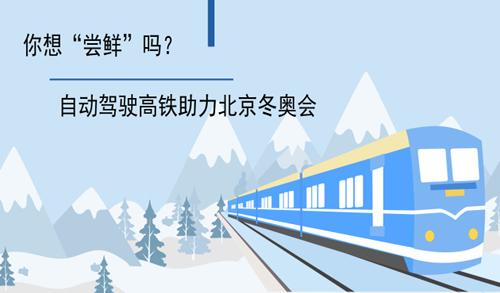 """自动驾驶高铁助力北京冬奥会 你想""""尝鲜""""吗?"""