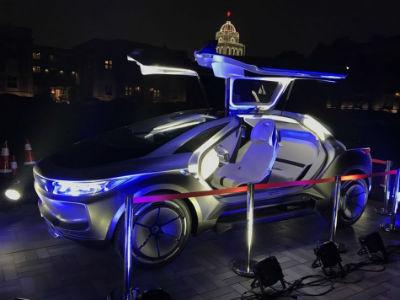 奇点智能新能源汽车炫酷来袭