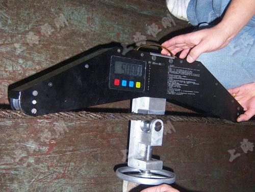 钢丝绳拉力测量仪图片