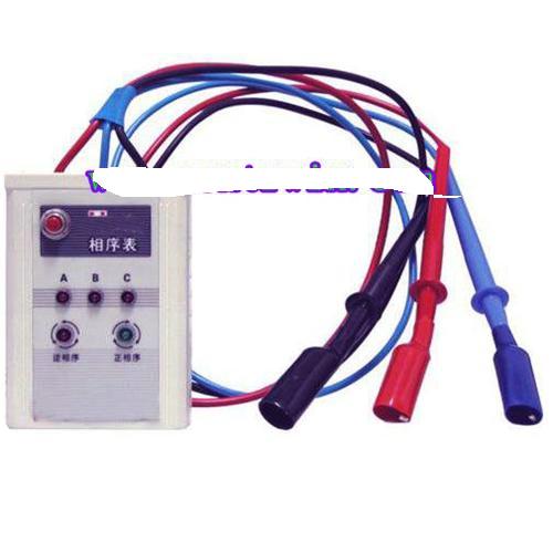 判定三相电的相序及缺相情况 三相电相序表特点 直接由被测电源供电