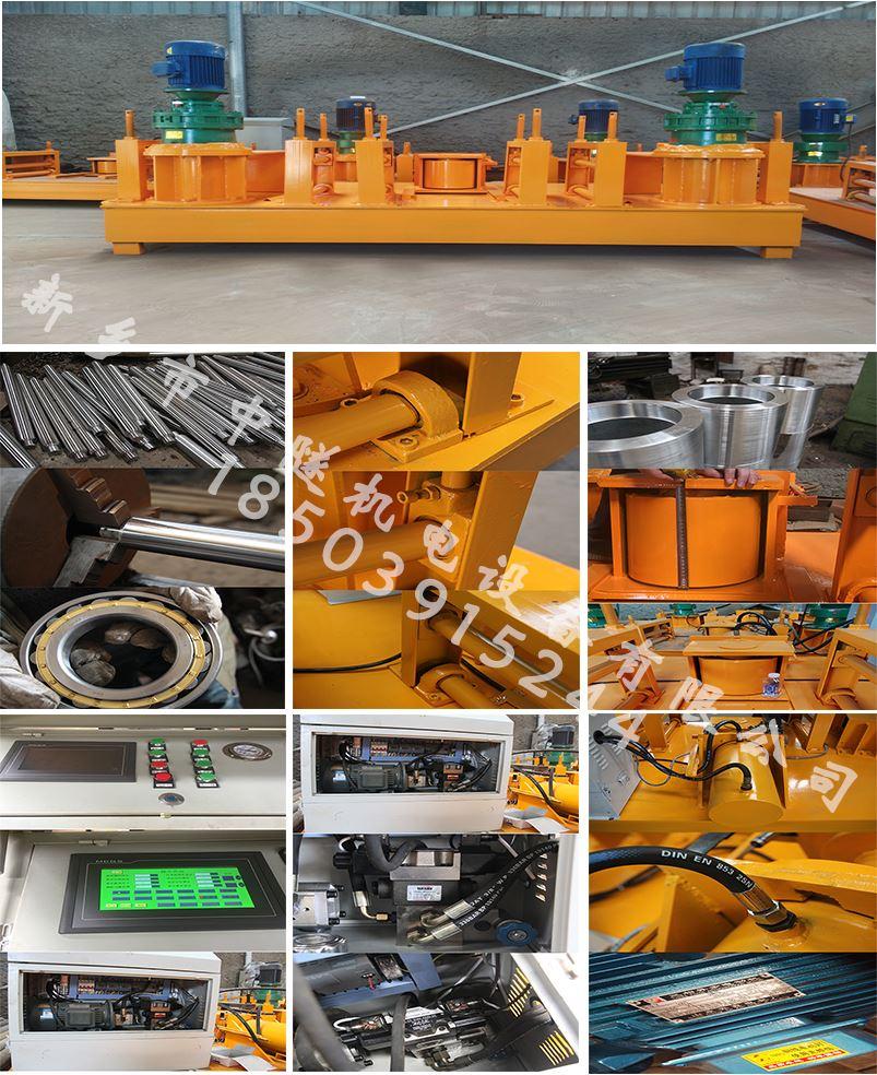 机械 建筑工程工字钢冷弯机  建筑工程工字钢冷弯机 1,采用加强底盘设