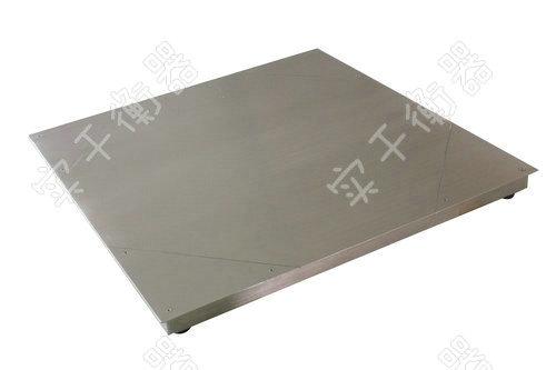 不锈钢平板地秤