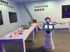 迎宾接待机器人