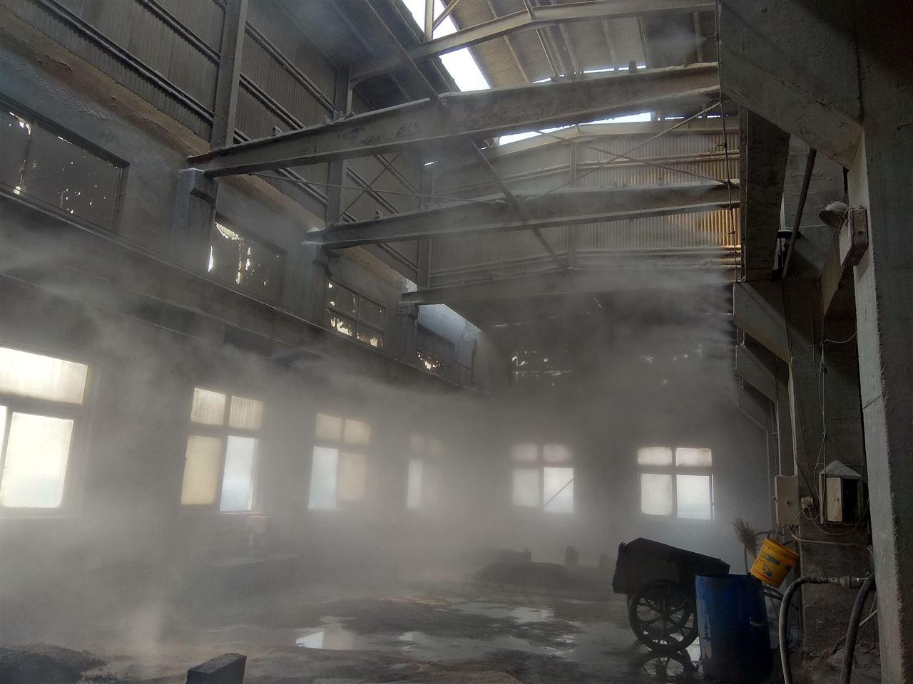 工厂喷雾降尘系统案例