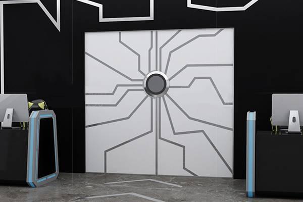 电动科幻门