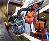 打磨抛光机器人应用(钢板)